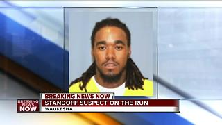 Domestic violence suspect on the  run in Waukesha - Video