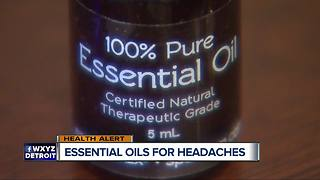 Five effective essential oils for headaches - Video