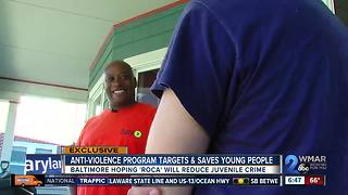 Roca is Baltimore's newest effort to reduce crime among children, young adults - Video