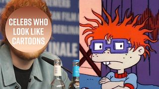 Can you guess the cartoon doppelganger of these celebs? - Video