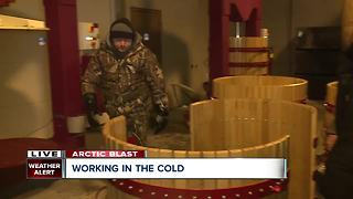 Northeast Ohio's wine country welcomes arctic air for ice wine - Video
