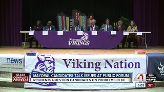 Northeast residents grill KCMO mayoral candidates at forum