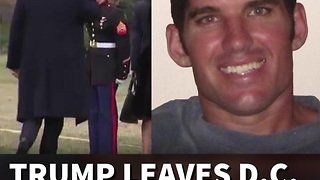 Trump Leaves D.C. To Honor Fallen U.S. Navy Seal - Video