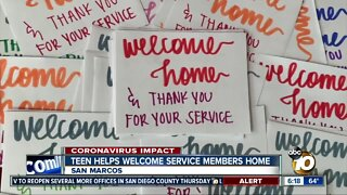 CSUSM student creates welcome home packages for service members