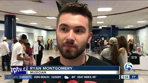 Justin Moore plays concert in Boca Raton for MSD victims