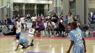 Basketball prodigy breaks kid's ankles with sick move to the basket - Video