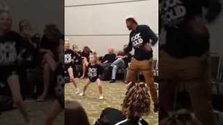 Little Girl Puts on Fierce Display of Hip-Hop Dancing