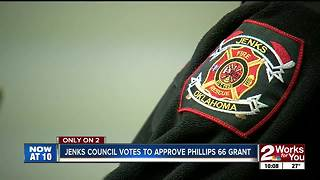 Jenks council approves Phillips 66 firefighter training grant - Video