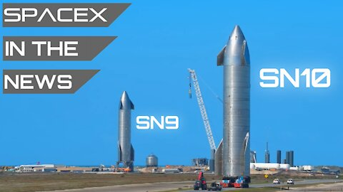 Starship Now Launching Monday, Second Starship Moved To Pad | SpaceX in the News