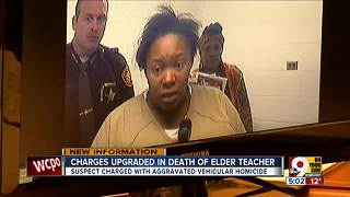 Accused hit-skip driver now faces aggravated vehicular homicide charges in death of Elder teacher - Video