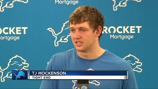TJ Hockenson already clicking with Matthew Stafford