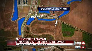 Collier County death under investigation - Video