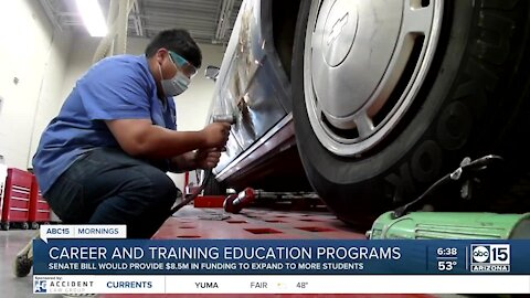 Career and Technical Education Funding Bill would bring more access to CTE programs across the state