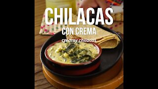 Chilacas with Cream
