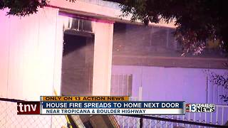 Las Vegas woman's morning routine likely saves home from fire - Video