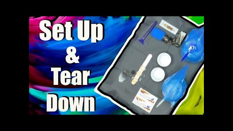 How to:✅ set up and tear down your tattoo station 🤘