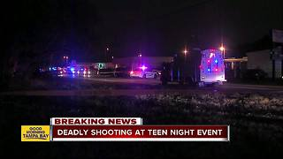 Two dead after shooting outside teen club event in Tampa