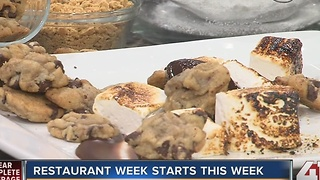 Restaurant week: homemade marshmallows