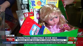 Local churches host Operation Christmas Child