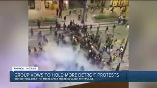 Group vows to hold more Detroit protests