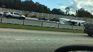Plane Makes Emergency Landing on Seminole County Highway - Video