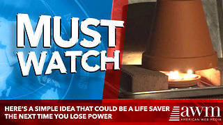 Here's A Simple Idea That Could Be A Life Saver The Next Time You Lose Power - Video