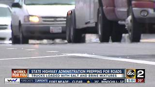 Snow expected to cause difficult Wednesday morning commute - Video