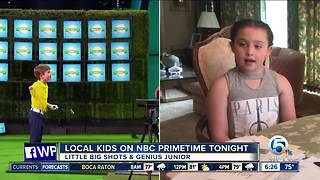 Local Kids on NBC Primetime Tonight - Video