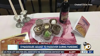 Synagogues adjust to passover during pandemic