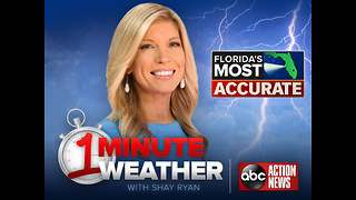 Florida's Most Accurate Forecast with Shay Ryan on Saturday, October 6, 2018 - Video