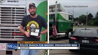 Waupun police seek information about missing, endangered man - Video