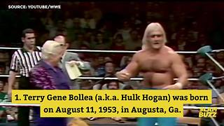 5 facts about Hulk Hogan | Slambuzz - Video