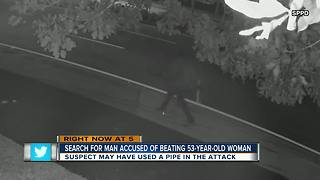 Police: Suspect robbed and beat up 53-year-old woman as she walked home - Video