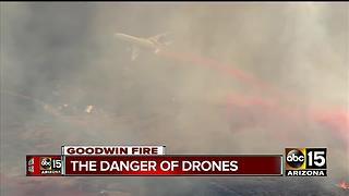 Thousands of people evacuated due to Goodwin Fire - Video