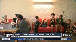 UNLV trying gender-inclusive LGBTQ-friendly housing - Video