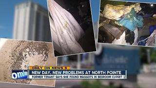 New day, new problems: More complaints from residents at North Pointe Apartments in Euclid - Video