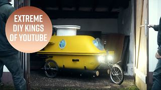 Bathtub submarine? These guys make awesome contraptions - Video