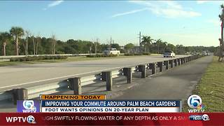 FDOT seeks public opinion on Palm Beach Gardens road improvements - Video