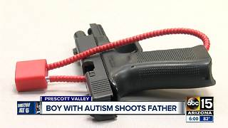 7-year-old with autism accidentally shoots dad