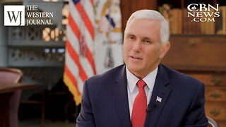 Mike Pence Confirms Donald Trump Is A Believer - Video