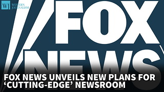 Fox News Unveils New Plans For 'Cutting-Edge' Newsroom - Video