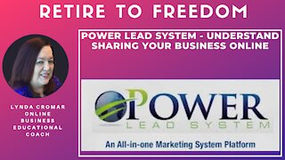 Power Lead System - Understand Sharing Your Business Online
