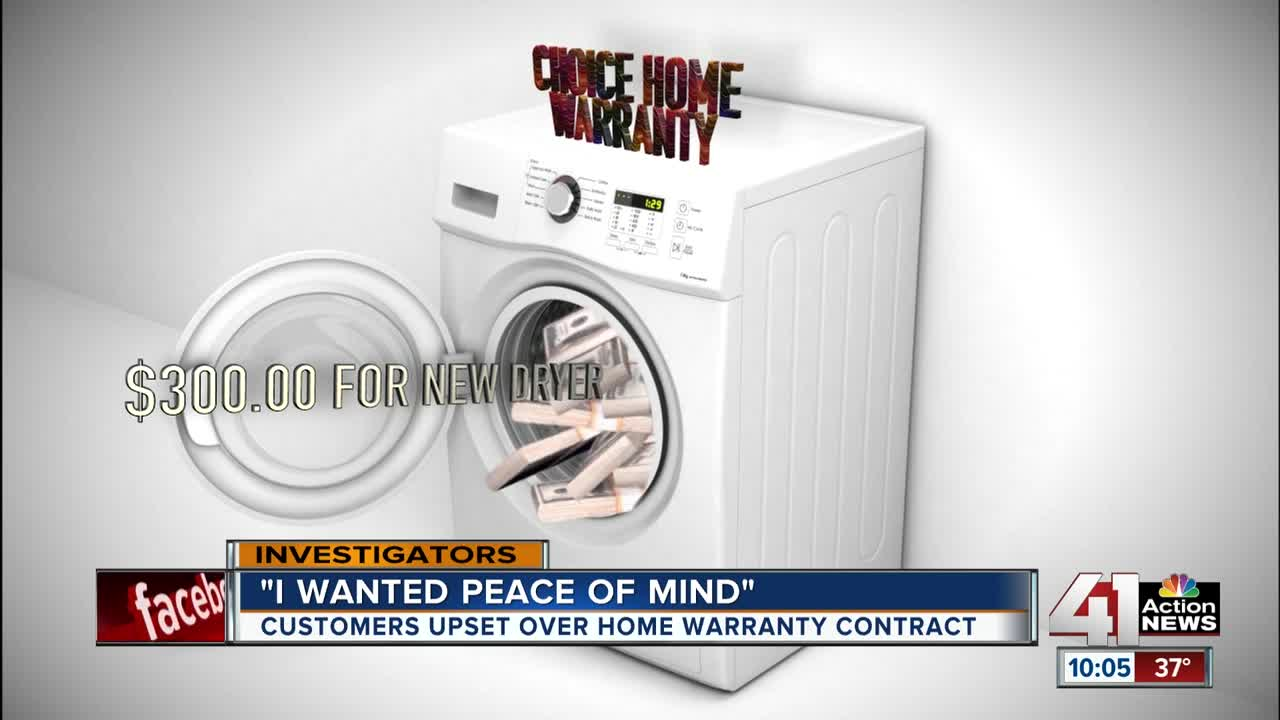 Customers claim Choice Home Warranty doesn't honor contract
