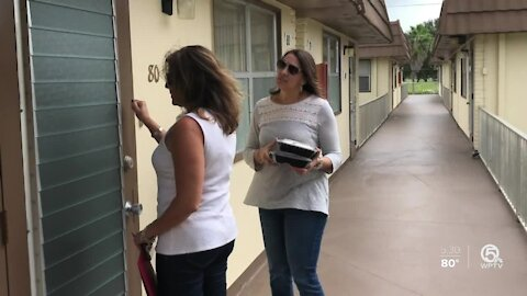 Palm Beach County residents facing eviction struggles