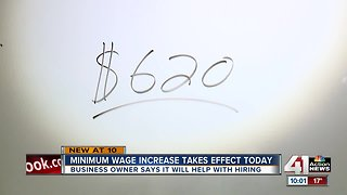 Minimum wage increase officially instated across Missouri