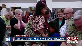 Over 100 National Guard members reunited with families for holidays - Video
