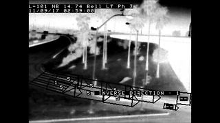 Wrong-way thermal camera detection 1 - Video