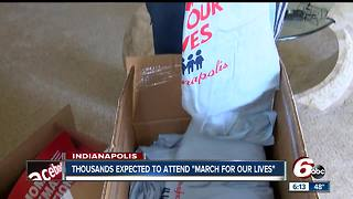 High school senior organizing March for Our Lives in Indianapolis