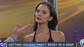 Get holiday party ready in a snap - Video