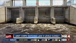 Army Corps watching Lake Okeechobee levels closely